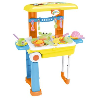 Kit Cozinha Infantil 3 em 1 28 Peças BW103 Importway