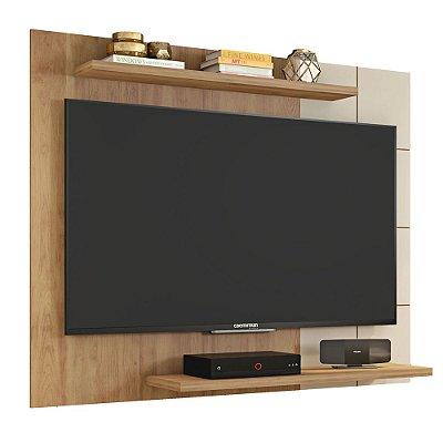 Painel Para TV Até 58 Polegadas 135cm Cross Buriti/Off Brilho