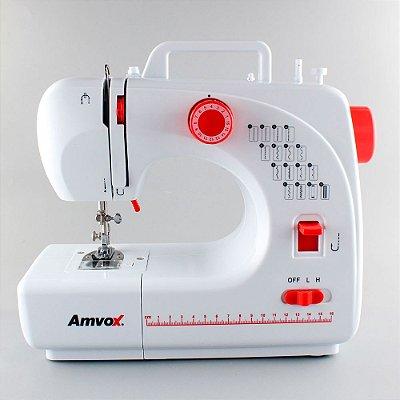 Máquina de Costura Doméstica 16 Pontos Amvox AMQ 016 Bivolt