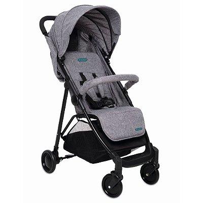Carrinho de Bebê Berço Cinza Bebeliê 15 Kg CBB-02