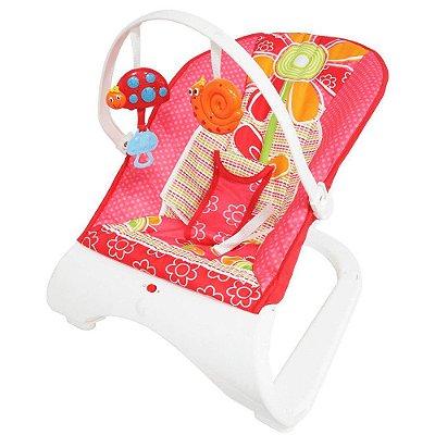 Cadeirinha Bebê Descanso Vibratória Musical Importway BW095RS