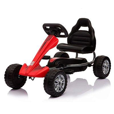 Mini Kart Pedal Infantil Vermelho BW130 VM Importway