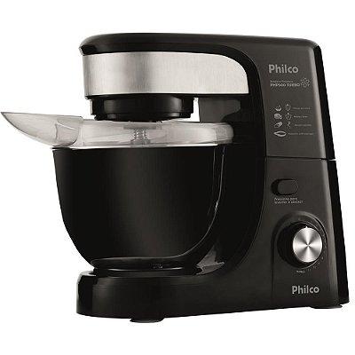 Batedeira Planetária Philco 500W PHP500 Turbo Preto 110v