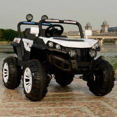 Quadriciclo Infantil Eletrico Branco BW085BR 12v Importway