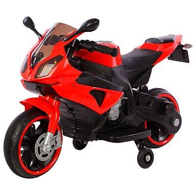 Mini Moto Elétrica Infantil 6v Vermelho BW127 VM Importway