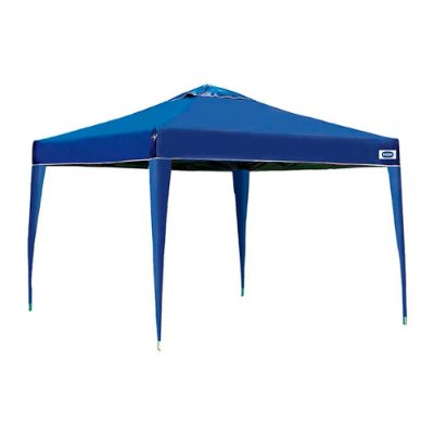 Gazebo X-Flex Oxford Com Silvercoating Azul 3x3m Mor