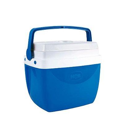 Caixa Térmica Alça Polipropileno Azul 12 litros Mor