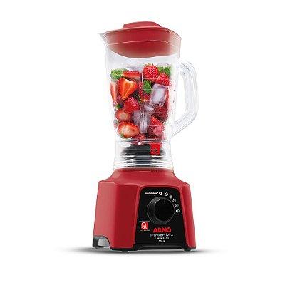 Liquidificador Power Mix Arno Limpa Fácil Vermelho LQ30 110v