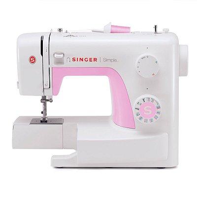 Máquina Costura Doméstica Singer Simple 22 Pontos 3223 220v