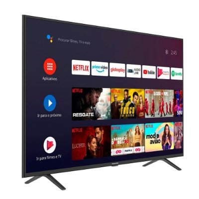 "Smart TV Ultra HD LED Android 50"" 4K Panasonic TC-50HX550B"