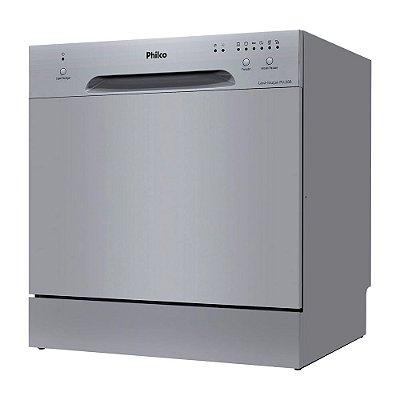 Lava-louças Eletrônica Philco PLL08I 8 Serviços 110v