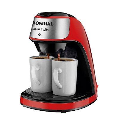 Cafeteira Mondial 2 xícaras Smart Coffee C-42-2X-RI 220v