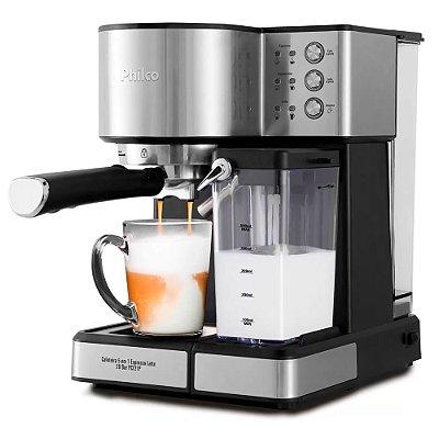 Cafeteira Espresso Philco 5x1 Latte 20 Bar PCF21P 110v