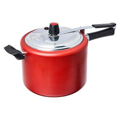 Panela de Pressão Vapt 23x18,5cm 7,5 Litros Vermelho Brinox