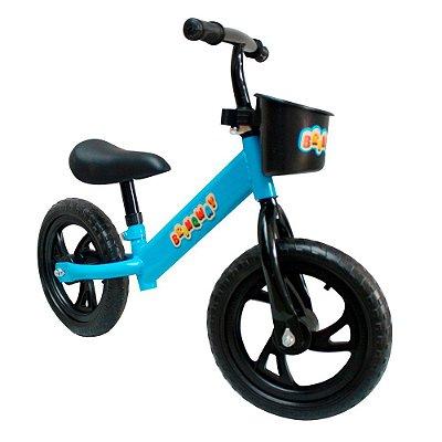 """Bicicleta Sem Pedal 12"""" Importway Balance BW152AZ Azul"""