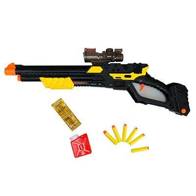 Pistola Infantil Lança Dardos Com Mira BW142 Importway
