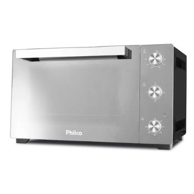 Forno Elétrico Philco 1500W PFE50PE Full Glass 50l 110v