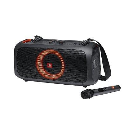 Caixa de Som Bluetooth JBL PartyBox On-The-Go Com Microfone