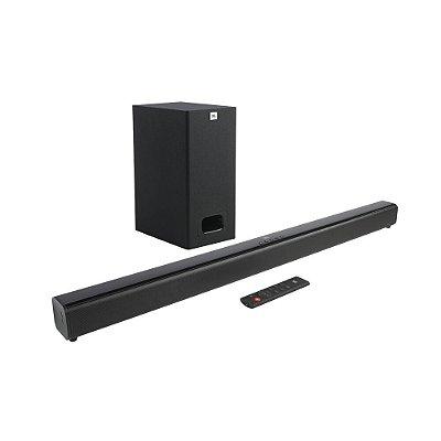 Soundbar JBL SB130 2.1 Canais 55W Subwoofer Com Fio HDMI