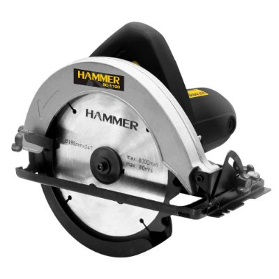 "Serra Circular Madeira 7.1/4"" 1100W Hammer GYSC1100 220v"