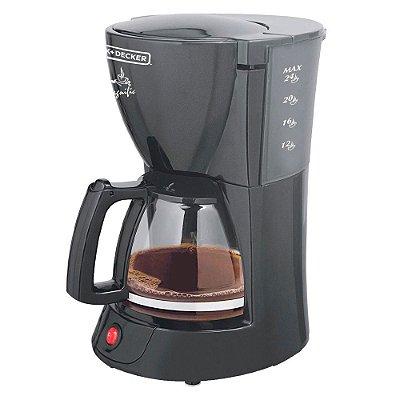 Cafeteira Elétrica 24 xícaras Black+Decker CM200-BR 110v