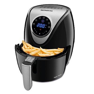 Fritadeira Air Fryer Mondial Inox Digital Touch AF-30-DI 220v