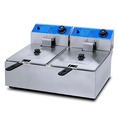 Fritadeira Elétrica Industrial 12L Importway IWFEI-12 110v