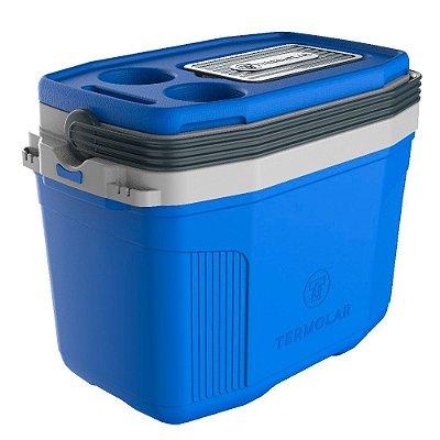 Caixa Térmica SUV 20L Termolar 3501EAZ Azul Com Cinza