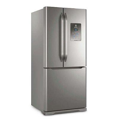 Geladeira Frost Free Multi Door 579 L Electrolux Cor Inox DM84X 110v