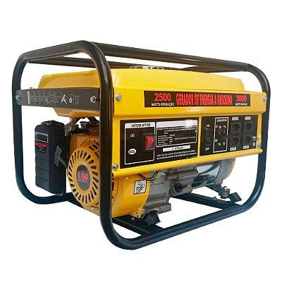 Gerador Gasolina Manual Monofásico 3000W IWGEG3000 Importway
