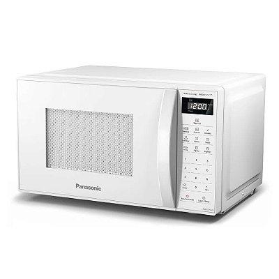 Micro-ondas 21 Litros Panasonic Antiaderente NN-ST25JWRUK Branco 110v
