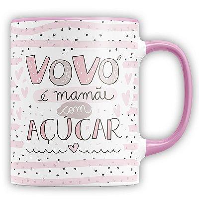 Caneca Personalizada Vovó É Mãe Com Açucar (Com Foto e Nome)