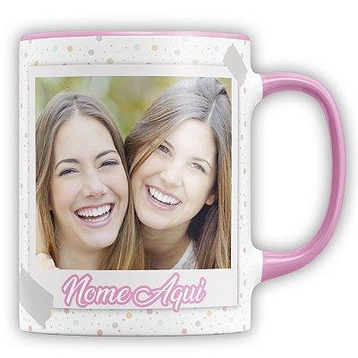 Caneca Personalizada Amizade (Foto e Nome) (mod.2)