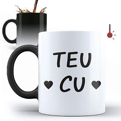 Caneca Mágica Personalizada Teu Cu (Com Nome)