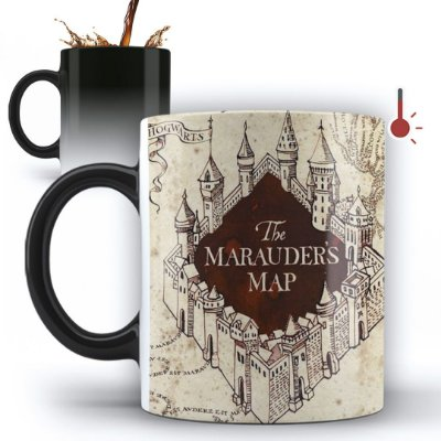 Caneca Mágica Personalizada Mapa Do Maroto Harry Potter (mod.1)