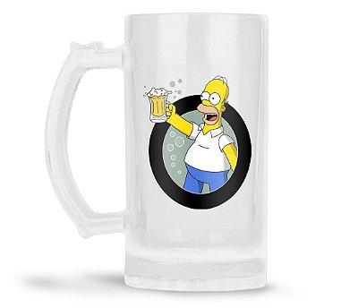 Caneca Chopp Personalizada Homer Simpson