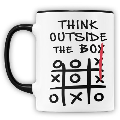 Caneca Personalizada Think Outside The Box