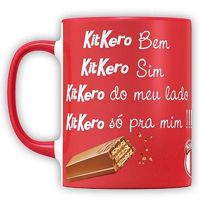 Caneca Personalizada Chocolate KitKero (Com Foto)