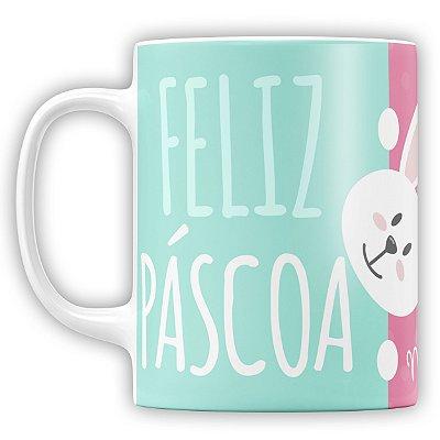 Caneca Personalizada Pascoa (Com Foto) (mod.2)