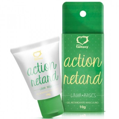 Gel Retardante Masculino - Action Retard 10g