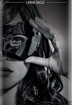 Máscara Feminina Vinil - Filme 50 Tons + Escuros