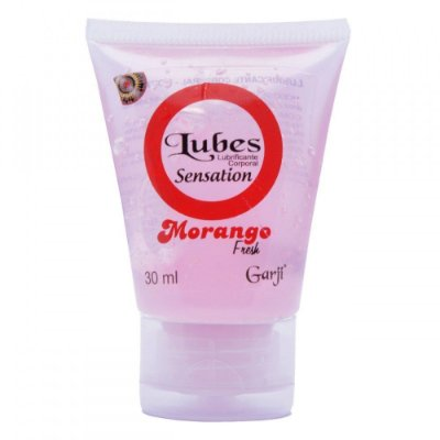 Lubes Sensation - Gel Lubrificante Morango - 30 ml