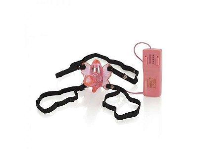 Estimulador Vaginal com Mini Pênis Rotativo 5 Níveis Vibração