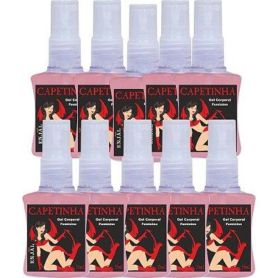 Capetinha - Spray Excitante Feminino - 35 ml - 10 Un
