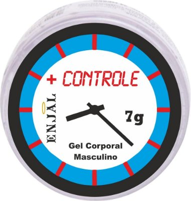 + Controle Pomada Retardante da Ejaculação - 7g
