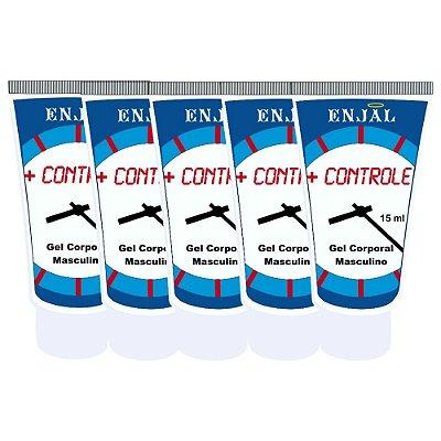 + Controle - Retardador da Ejaculação - 15 ml - 05 Un