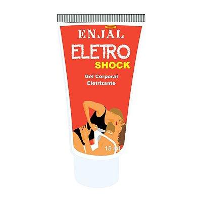 Eletro Shock - Gel Vibratório Efeito Excitante - 15 ml