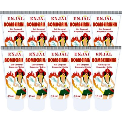 Bombeirinha - Gel Esquenta & Esfria - 15 ml - 10 Un