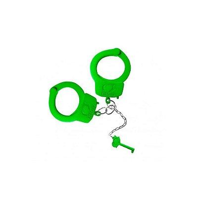 Algemas de Metal - Verde Neon - Fetiche Sado