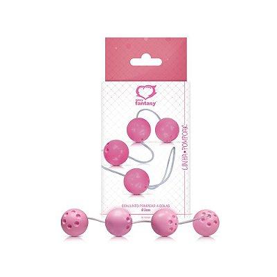 04 Bolinhas - Pompoar com Pesinho - Orgasm Balls